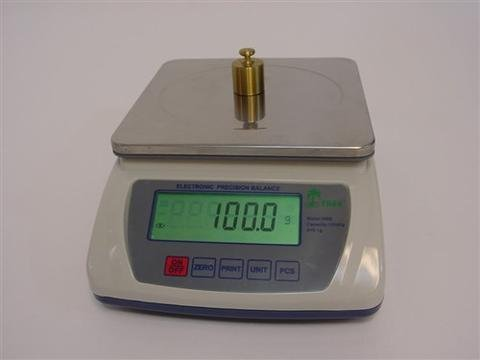 Tree Scales Lw Measurements HRB 6001 Portable Precision Counting Balance! 6,000 G X 0.1 Gram - With 2 Year Warranty!