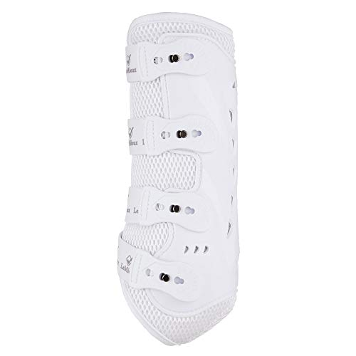 Hind Fetlock Boots - LeMieux Snug Boot Pro - Hind White Medium