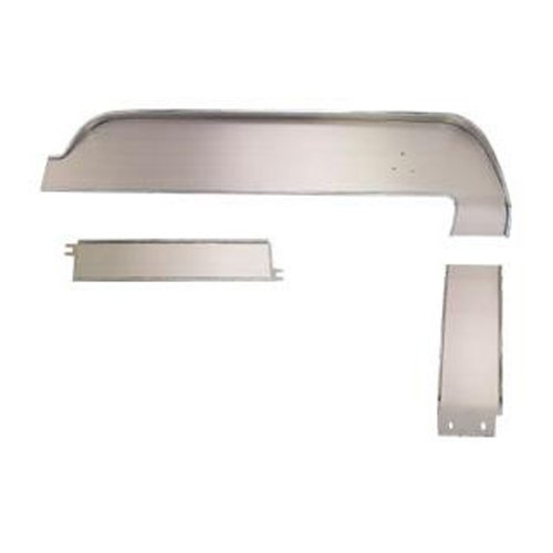 (MUSTANG SCOTT DRAKE DASH PANEL TRIM DELUXE WITH BRUSHED ALUMINUM ATTACHED SET 1967)