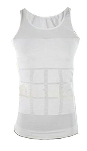 Ultima Body Care - Shop Flash Ultimo Compression Exercising Body Shaping Active Wear Compressive Women's Tank, White, X-Large by Shop Flash