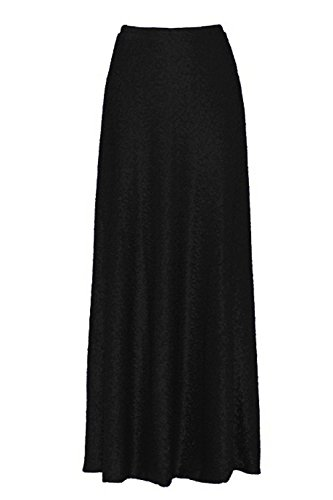 Honey Qiao Women's A Line Wedding Party Skirts Maxi Sequin Holiday Formal Skirt by Honey Qiao