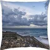 Ocean Front - Throw Pillow Cover Case (18