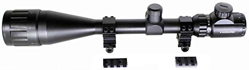 Trinity 6-24x50 Long Range Scope with Rail Mount for Winchester Model 70 Long Action