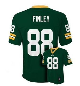 Jermichael Finley Green Bay Packers NFL Youth Size Jersey Green (Youth Xlarge Size 18/20)