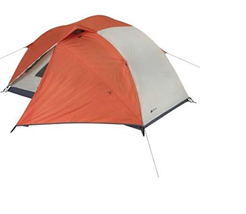 Ozark-Trail-4-season-2-person-Camping-Cabin-Dome-Hiker-Tent-W-Front-Read-Doors