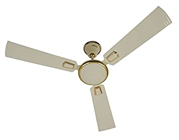 Buy Usha Allure 1200mm 3 Blade Ceiling Fan Ivory line at Low