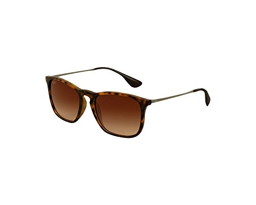 Ray Chris Ban Brun Havana Dégradé Rubber FZSFq