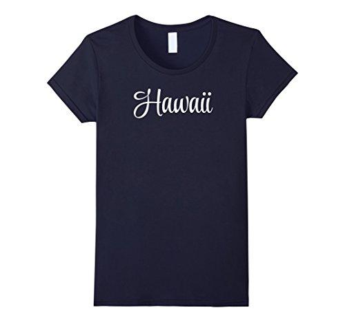 Womens Hawaii T Shirt For Women Xl Navy
