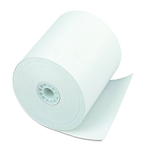 PM Company Perfection POS/Black Image Thermal Rolls, 3 Inches x 225 Feet, White, 24/Carton (08838) by PM Company