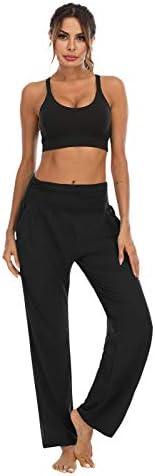 OYANUS Womens Yoga Sweatpants Wide Leg Loose Comfy Lounge Pants Workout Joggers Pants with Pockets 5
