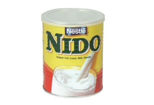 Nestle Nido Instant Milk Powder Europe, 2-Pound Tins (Pack of 4) by Nestle