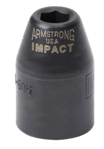 Armstrong 46-612 3/8-Inch Drive 6 Point Impact Socket, 12 mm by Armstrong [並行輸入品]  B00004WBRE