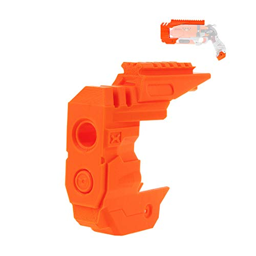 Goshfun Worker F10555 No. 217 Barrel Modified Assembly Toy Kit for NERF Zombie Hammershot, Orange