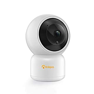 Anlapus 1080P Indoor IP Camera, WiFi Baby Camera, 2.4Ghz Home Camera with Two Way Audio, Night Vision and Motion Detection, with TF Card Slot and Cloud
