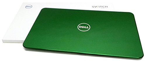 (Genuine Dell Inspiron 15R N5110 Design Studio Switch Green Summer Grass Laptop Cover Lid 2011 2ND Generation Notebooks Compatible Part Numbers: 0F4H5, 00F4H5)