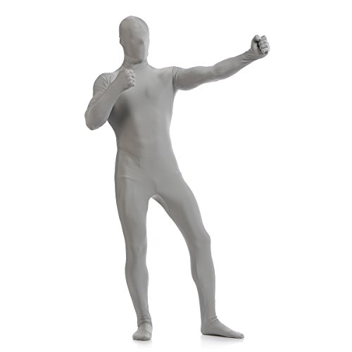 WESTLINK Men's Zentai Suit Bodysuit Costume 2nd Skin Lycra Spandex Full Body -