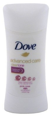 Dove Deodorant 2.6 Ounce Adv Care Anti-Perspirant Pink Rosa (76ml) (3 Pack) (Care Adv)