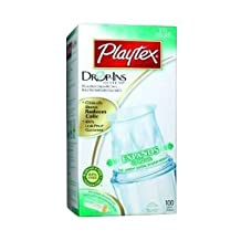 Playtex Drop-ins Pre-formed Soft Bottle Liners (6 Pack)