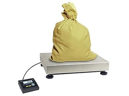 Báscula de plataforma suelo 40 x 40 cm, diseño de Balanza para paquetes industria 60