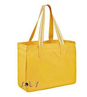 SOLS Bags Shoppingbag Rimini 71900, Größe:41 x 34 x 15 cm;Farbe:Gold/White