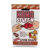 Mini Snaps Liver (3 PACK STUFF N LIVER SNAPS, Color: LIVER; Size: MINI (Catalog Category: Dog:TREATS))