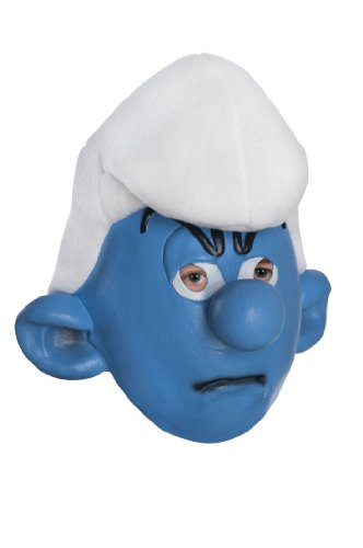 Papa Smurf Costume Make (The Smurfs Movie Child's Mask, Grouchy)