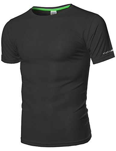 SBW Men's Workout Activewear Short Sleeve Top
