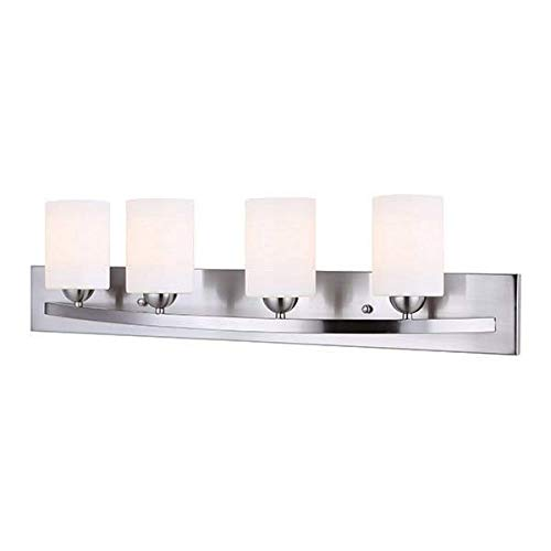 Canarm IVL370A04BPT Hampton 4 Light Vanity44; Brushed Pewter