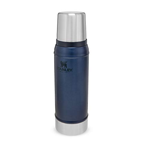 Stanley Classic Legendary Bottle 0.47L / 16OZ Hammertone Green, Thermosfles houdt 15 uur warm of koud…