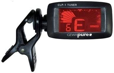 ACCORDATORE CHITARRA CLIP CLP-1 GEWA LCD INTONATORE BASSO UKULELE