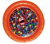 MM's Orange Character Candy Mix Lenticular Plate