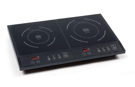 domo do 315ipdomo double plaque de cuisson induction type domino feux 1600 et 1800w en. Black Bedroom Furniture Sets. Home Design Ideas