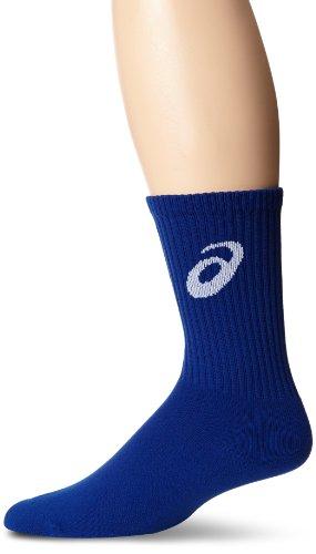 ASICS Team Crew Socks, Royal, Medium