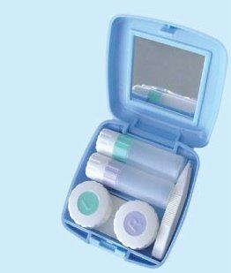 Contactez Companion: est un soin complet, Kit lentilles de contact. Idéal pour une utilisation à la maison, l'école, des manifestations sportives, le Bureau, la plage ou en voyage.