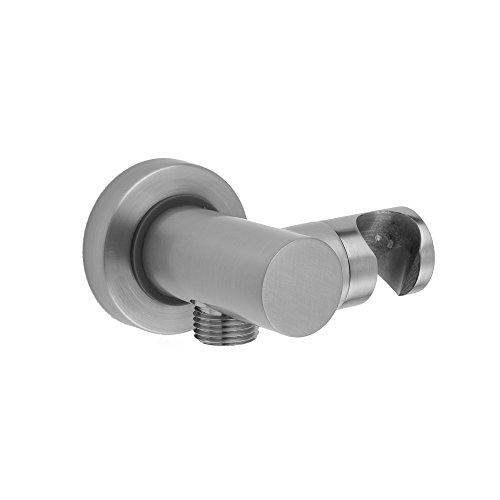 Jaclo 6458-BG - Contempo Water Supply Elbow with Handshower Holder (Supply Jaclo Elbow Water)