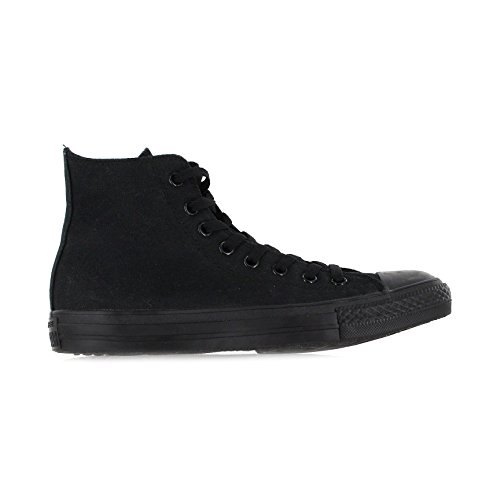 Converse Mens Chuck Taylor All Star High Top, 13 D(M) US, Black Monochrome by Converse (Image #1)
