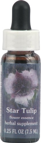 Flower Essence Services Supplement Dropper, Star Tulip, 0.25 (0.25 Ounce Flower Essence)
