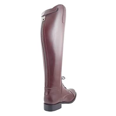 Hispar Victory Lady Ladies Women Field Boots Horse Riding Equestrian Sports Shoes Brown Plus 2plus Calf Sizes Available (6, Color:Brown Calf:Regular)