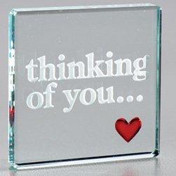 Thinking Of You Heart Token - Little Romantic Keepsake - Birthday ...