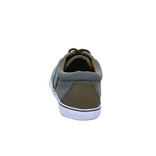 Sneakers 61.831.8.9.so.4 Herren Leinen Schnürhalbschuh Grau (Grau)