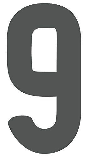 iCandy Products Inc Metal Westmorland Single Letter Cutout Vintage Ready To Hang Wall Monogram Home Decor, Gray (9) (18 In Tall)