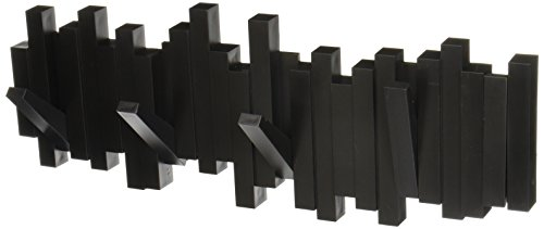 Umbra Sticks 5-Hook Wall Hook, Black