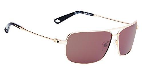 Spy Optic Leo Aviator Sunglasses, Brass, 63 - Aviator Spy Sunglasses