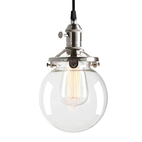 Permo Vintage Industrial Pendant Light Fixture Mini 5.9