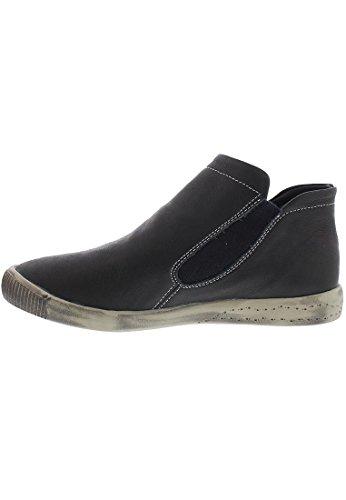 SoftinosInge - botas sin cordones mujer Black