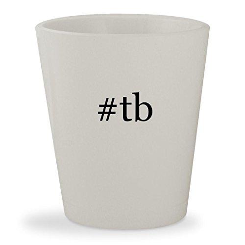 Price comparison product image #tb - White Hashtag Ceramic 1.5oz Shot Glass