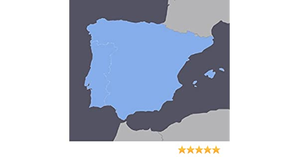 Spain and Portugal GPS Map 2019.2 for Garmin Devices