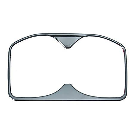 Viviance Edelstahl-Wasser-Cup-Halter Decoration Cover Trim Molding Sticker F/ür Peugeot 5008 3008 Gt 2017 Das Silber