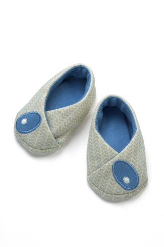 Pandi Panda Petites Chaussures Réversible s Bleu