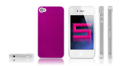 KATINKAS 6006988 Hard Cover for iPhone 4 - Casino - 1 Pack - Retail Packaging - Magenta
